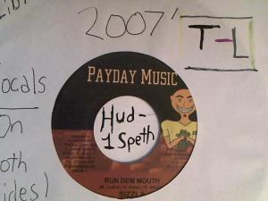Hud-2 vinyl photos 2307